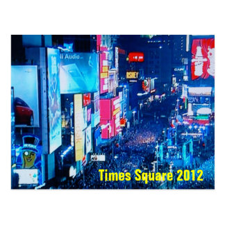 Times Square New Years Eve Postcard
