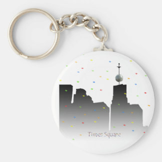 times square new years keychain