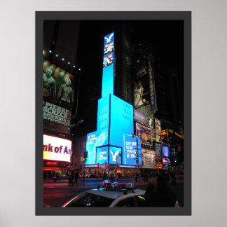 Times Square New York Canvas Print 26x34