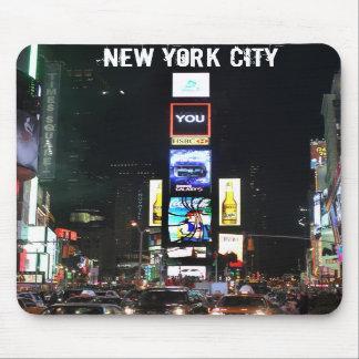 Times Square New York City Alfombrillas De Ratón