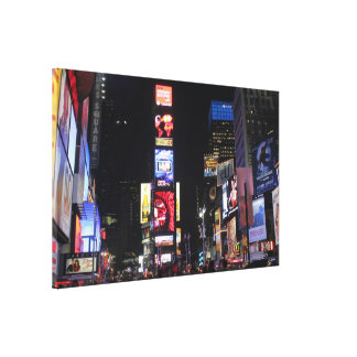 Times Square-New York City Canvas Print