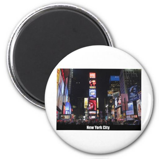 Times Square New York City Fridge Magnet