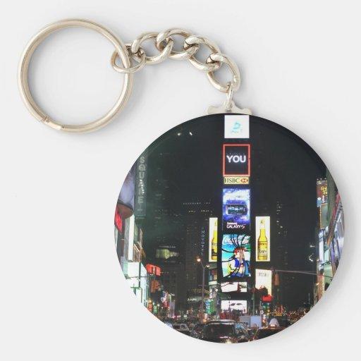 Times Square New York City Llavero Personalizado