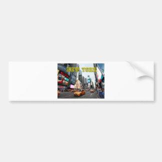 Times Square New York City los E.E.U.U. Pegatina Para Auto