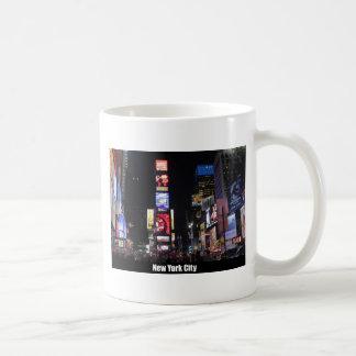 Times Square New York City Classic White Coffee Mug