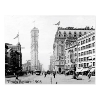 Times Square, New York City, Photo From 1908 Postcard