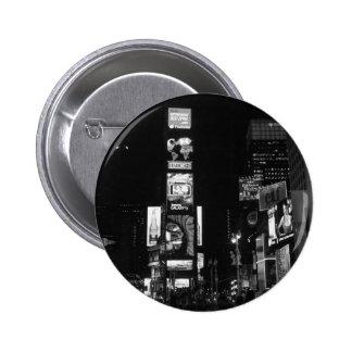 Times Square New York City Pin Redondo 5 Cm
