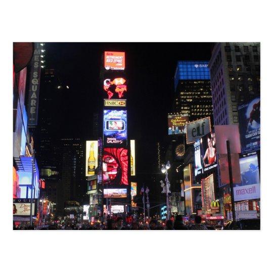 Times Square New York City Postcard