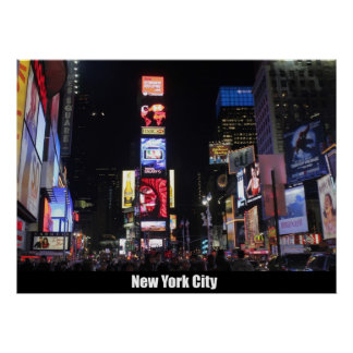 Times Square-New York City Poster