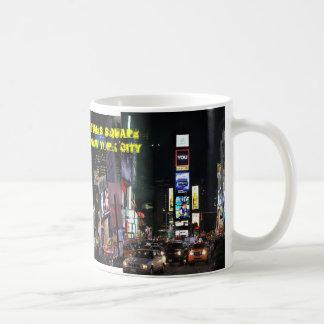 Times Square New York City Taza Clásica