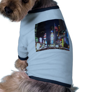 """Times Square, New York City, USA""  CricketDiane A Doggie T Shirt"