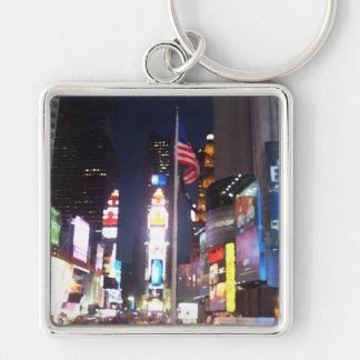 """Times Square, New York City, USA""  CricketDiane A Key Chain"