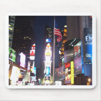 """""""Times Square, New York City, USA""""  CricketDiane A Mouse Pad"""