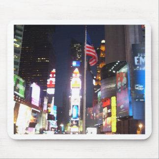 """Times Square, New York City, USA""  CricketDiane A Mousepad"