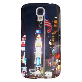 """Times Square, New York City, USA"" CricketDiane A Samsung Galaxy S4 Cover"