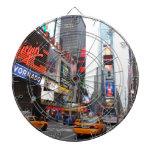 Times Square, New York City, USA Dart Board