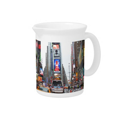 Times Square, New York City, USA Drink Pitcher