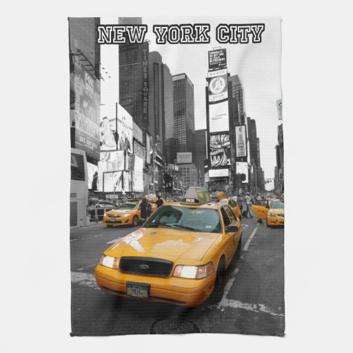 Times Square New York City USA Kitchen Towel
