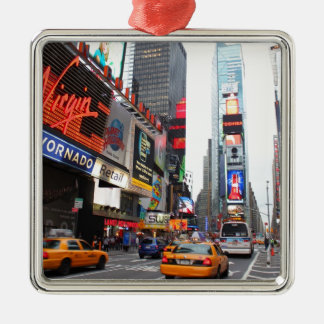 Times Square, New York City, USA Metal Ornament
