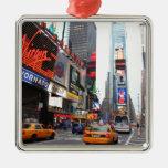 Times Square, New York City, USA Christmas Tree Ornaments