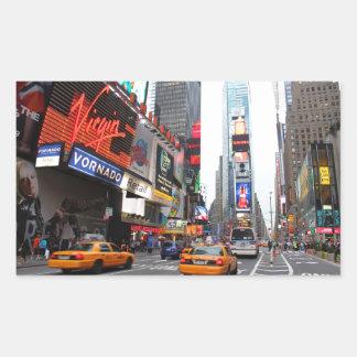Times Square, New York City, USA Rectangular Sticker