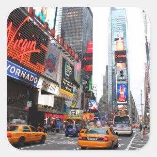 Times Square, New York City, USA Square Sticker