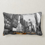 Times Square New York City USAs Throw Pillows