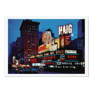 Times Square, New York City Vintage Card