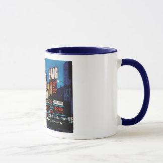 Times Square, New York City Vintage Mug