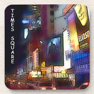 TIMES SQUARE--New York, cork coaster