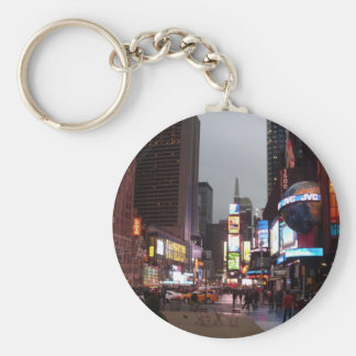 Times Square New York Keychain