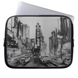 """Times Square New York Laptop Sleeve 10"""""""