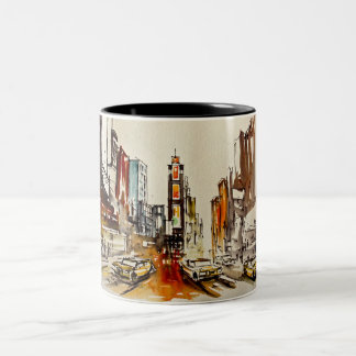 Times Square New York Mug