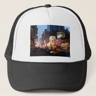 Times Square New York Trucker Hat