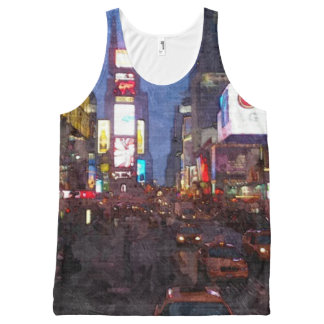 Times Square NY All-Over-Print Tank Top