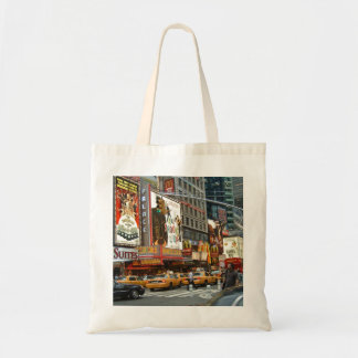 Times Square NY Budget Tote Bag