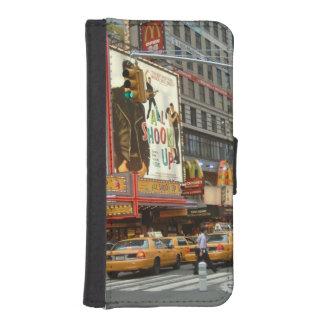 Times Square NY Fundas Billetera Para Teléfono