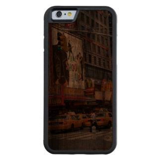 Times Square NY Funda De iPhone 6 Bumper Nogal