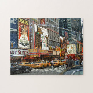 Times Square NY Jigsaw Puzzle