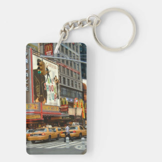 Times Square NY Keychain