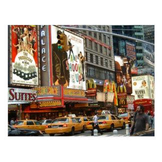 Times Square NY Postcard