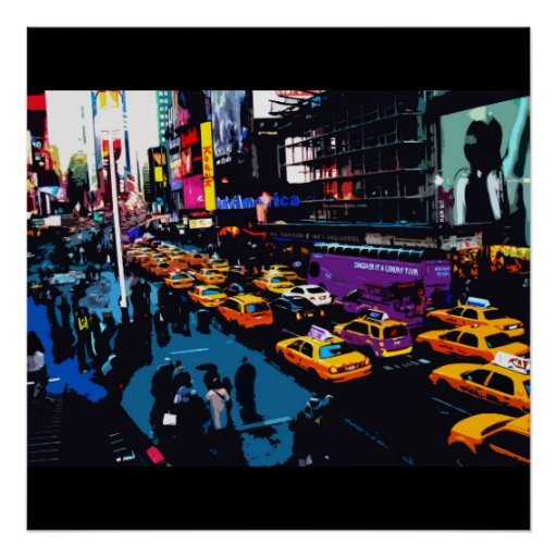 Times Square, NY Poster