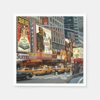 Times Square NY Servilleta Desechable