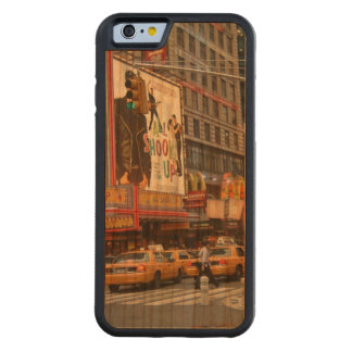Times Square NY Carved® Cherry iPhone 6 Bumper