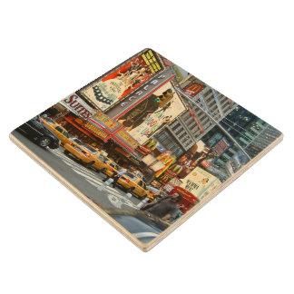 Times Square NY Wooden Coaster