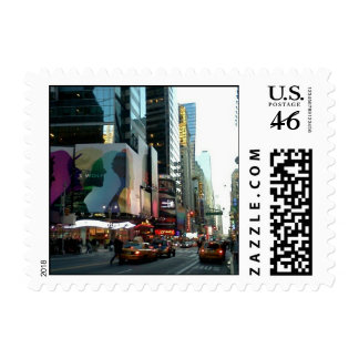 Times Square NYC 2012 Postage Stamps
