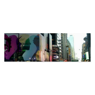 Times Square NYC 2012 Tarjeta De Visita