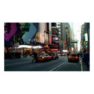 Times Square NYC 2012 Tarjetas De Visita