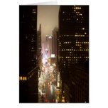 Times Square NYC Felicitación