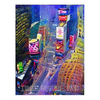 Times Square, NYC Postcard